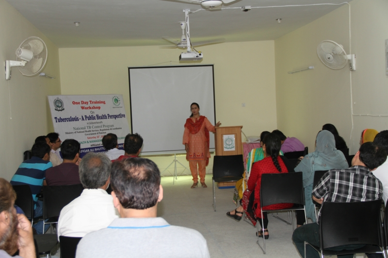 WORKSHOP WITH NATIONAL TB CONTROL PROGRAM